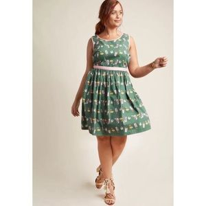 ModCloth Aglow in the Moment Dress